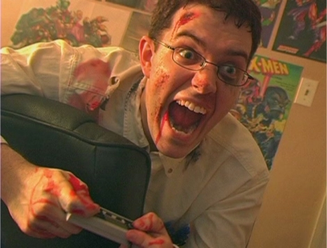 Imagem: Angry Video Game Nerd, do site Cinemassacre.