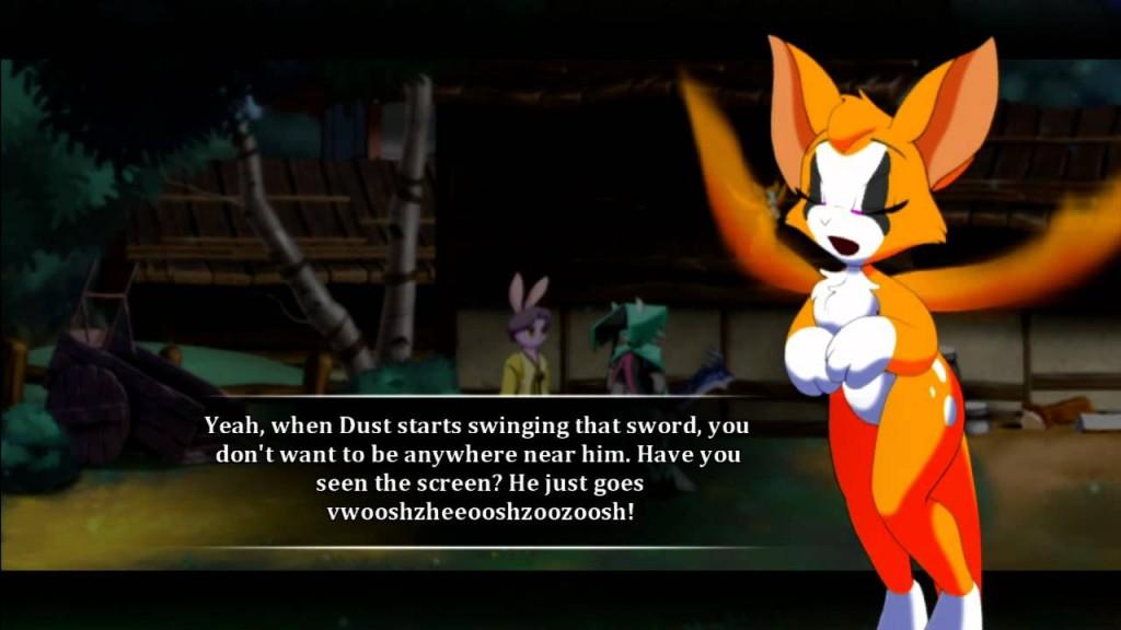 Dust: An Elysian Tail Fidget